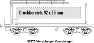 4-achsiger Kesselwagen