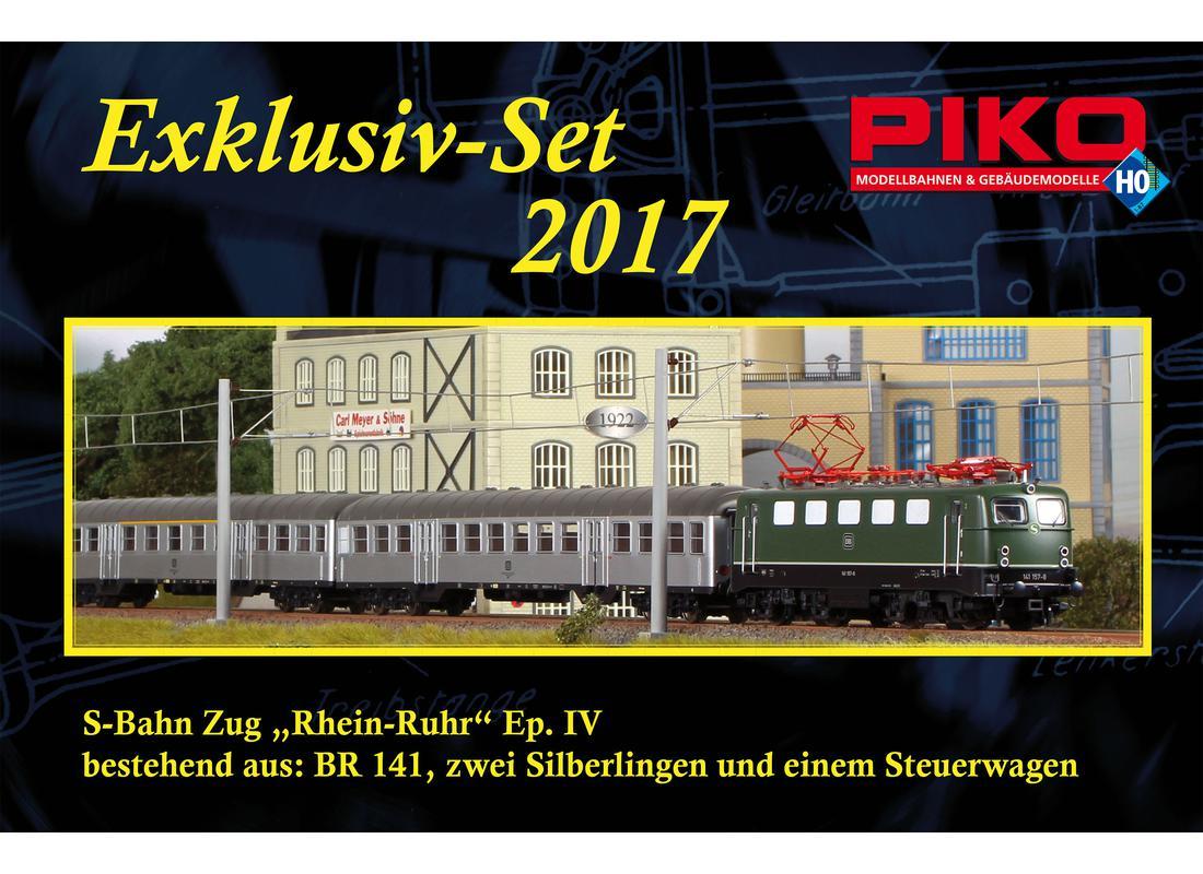 Tur de  Exklusiv-Set 2017 zum Tag der Offenen Tür: BR 141