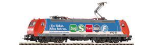 E-Lok 146 017 VVO Wechselstromversion