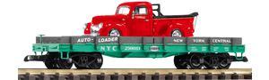 G Autotransportwagen NYC mit Metallauto