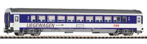 Liegewagen ÖBB blau/lichtgrau