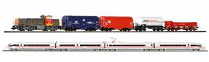 PIKO SmartControl® Premium Train Set 2 Zug Set ICE & G 1206 NS