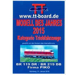 TT Diesellok BR 119, Spitzenlicht oben