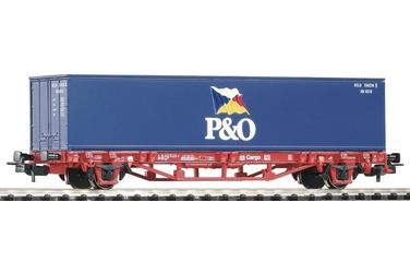 "Containerwagen DB AG V 1x40' Container ""P&O"""