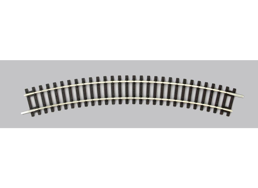 6 Stück - NEU Piko H0 55212-S Gebogenes Gleis R2 r = 421,88 mm // 30° OVP