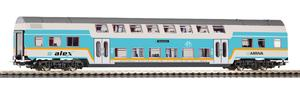 Doppelstock Personenwagen 2. Klasse ALEX