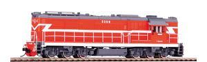 Diesellok DF7C Guangzhou Railway Wechselstromversion