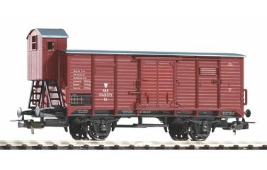 G02 Boxcar with brakeman's cabin PKP III