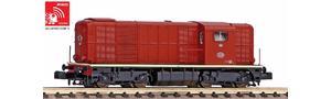 N Sound-Diesellokomotive Rh 2400 mit L-Licht, inkl. PIKO Sound-Decoder