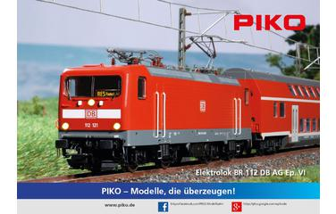 Poster PIKO BR 112 folded