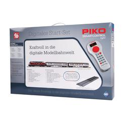 PIKO SmartControl light Set mit Bettungsgleis DB Personenzug