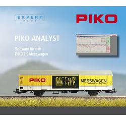 "Software für PIKO H0 Messwagen 55050 (CD-ROM) ""PIKO Analyst"""