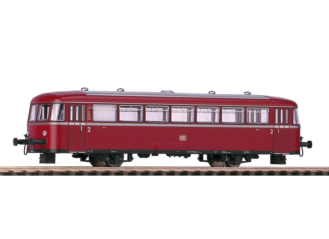 Schienenbus VT 98 + Steuerwagen VS 98 DB III piko
