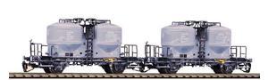TT 2er Set Zementsilowagen